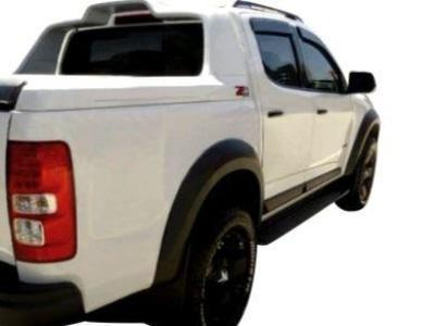 Flares for Holden Colorado - Black - Set of 4 (2016 - 2019 Models) - Spoilers and Bodykits Australia