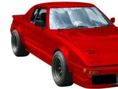 Flares for Mazda RX7 SA / SB 2 Door Coupe (Set of 4) - Spoilers and Bodykits Australia