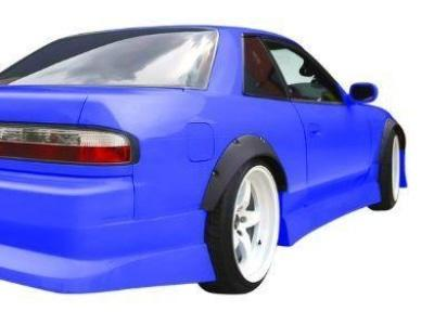 Flares for Nissan S13 Silvia 2 Door Coupe (Set of 4) - Spoilers and Bodykits Australia