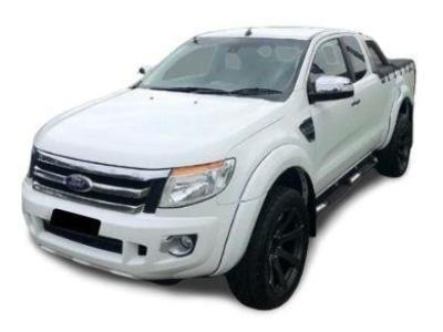 Flares for PX 1 Ford Ranger - White (Set of 4) (2011 - 2015 Models) - Spoilers and Bodykits Australia