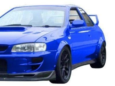 Flares for Subaru Impreza GC8 Sedan / Wagon (Set of 4) (1997 - 2001 Models) - Spoilers and Bodykits Australia