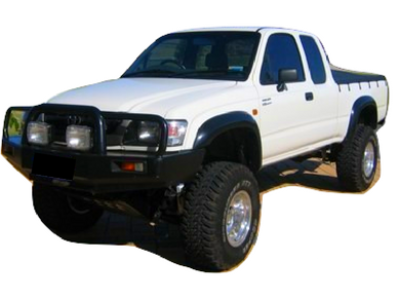 Flares for Toyota Hilux Extra Cab (97 - 05 Models) - Spoilers and Bodykits Australia