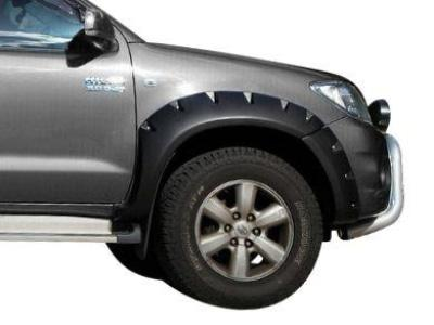 Flares for Toyota Hilux - Set of 2 for Front Wheel Arches - Smooth Finish - Chunky Style (2005 - 2011 Models) - Spoilers and Bodykits Australia