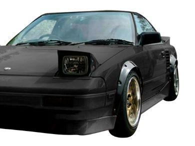 Flares for Toyota MR2 Coupe AW11 / SW20 / ZZW30 (Set of 4) - Spoilers and Bodykits Australia