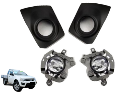 Fog Lights for Mitsubishi Triton MN (2009 - 2015 Models) - Spoilers and Bodykits Australia