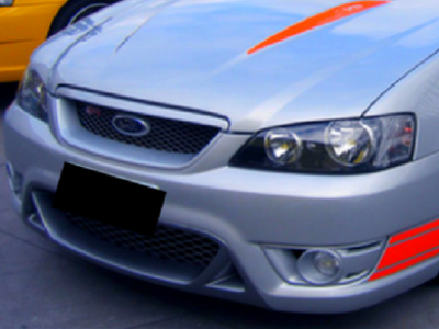Front Bumper Bar for BA / BF XT Ford Falcon - Typhoon Style - Spoilers and Bodykits Australia