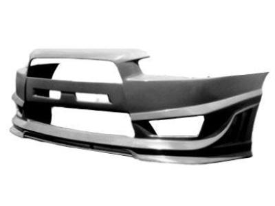 Front Bumper Bar for CJ Mitsubishi Lancer - EVO Style (Sedan & Sports Wagon Only) - Spoilers and Bodykits Australia