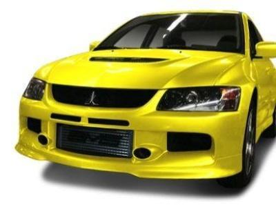 Front Bumper Bar for Mitsubishi Lancer EVO 8 / EVO 9 - EVO 9 Style - Spoilers and Bodykits Australia