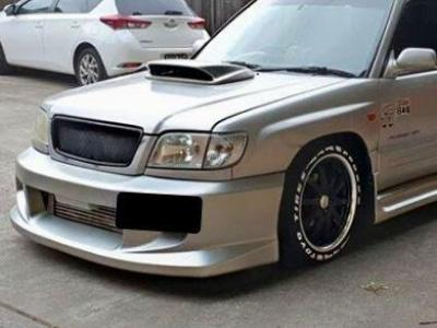 Front Bumper Bar for Subaru Forester (1997 - 2002 Models) - Spoilers and Bodykits Australia