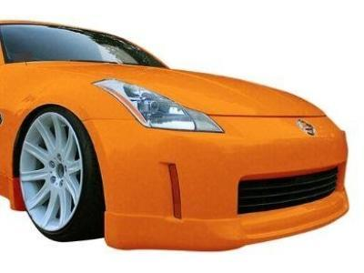 Front Bumper Bar Lip for Nissan 350Z (2003 - 2005 Models) - Spoilers and Bodykits Australia