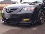 Front Lip for Mazda 3 MPS BK (2006 - 2008 Models) - Spoilers and Bodykits Australia