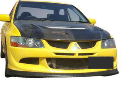 Front Lip for Mitsubishi Lancer EVO 8 (2003 - 2005 Models) - Spoilers and Bodykits Australia