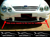 Front Lower Bumper Bar Lip Spoiler for AU Ford Falcon - 250 Style - Spoilers and Bodykits Australia