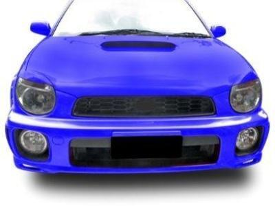 Head Light Eyebrows / Eyelids for Subaru WRX / Impreza / STI (2000 - 2002 Models) - Spoilers and Bodykits Australia