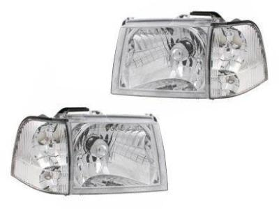 Head Lights & Corner / Indicator Lights for Ford Courier PG / PH (11/2002 - 12/2006 Models) - Spoilers and Bodykits Australia