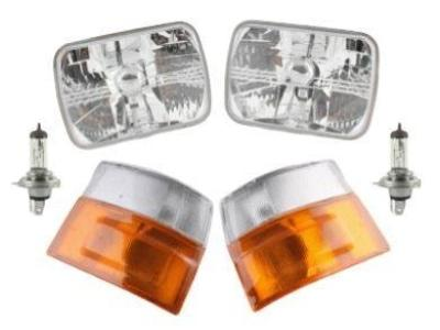 Head Lights & Corner / Indicator Lights for Toyota Hiace RZH / LH (08/1989 - 01/2005 Models) - Spoilers and Bodykits Australia