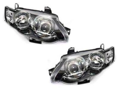 Head Lights for FG Ford Falcon XR6 / XR8 - Projector Performance Style - Black (11/2011 - 10/2014 Models) - Spoilers and Bodykits Australia