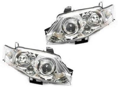 Head Lights for FG XT Ford Falcon Series 2 G6E - Projector Performance Style - Chrome (11/2011 - 10/2014 Models) - Spoilers and Bodykits Australia