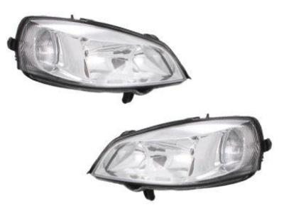 Head Lights for Holden Astra TS - Chrome (1998 - 2006 Models) - Spoilers and Bodykits Australia