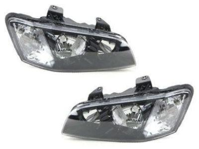 Head Lights for VE Holden Commodore Series 1 - Black (08/2006 - 08/2010 Models) - Spoilers and Bodykits Australia
