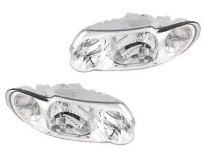 Head Lights for VX / VU Holden Commodore - Chrome (2000 - 2002 Models) - Spoilers and Bodykits Australia
