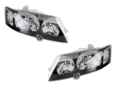 Head Lights for VY Holden Commodore - Black (10/2002 - 2004 Models) - Spoilers and Bodykits Australia
