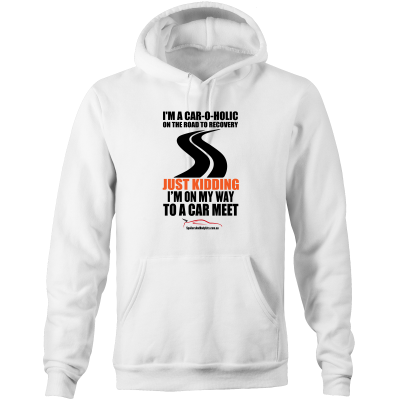 """I'm a Car-O-Holic"" Hoodie - Men's Car Hoodie Jumper (Multiple Colours & Sizes Available) - Spoilers and Bodykits Australia"