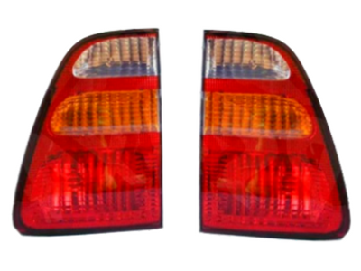 Inner Tail Gate Lights for 100 Series Toyota Landcruiser (04/1998 - 08/2002 Models) - Spoilers and Bodykits Australia