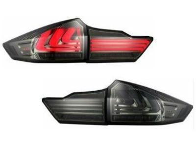 LED Tail Lights for Honda City GM 6 - Smoked Lens (2014 - 2017 Models) - Spoilers and Bodykits Australia