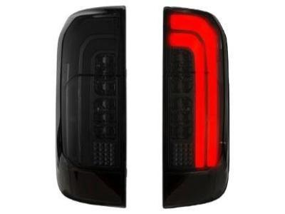 LED Tail Lights for Nissan Navara NP300 D23 ST-X - Smoked Lens (2015 - 2019 Models) - Spoilers and Bodykits Australia