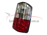 LED Tail Lights for Nissan Patrol GQ - Series 1 & 2 Models - Clear (1988 - 10/1997 Models) - Spoilers and Bodykits Australia