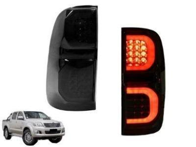 LED Tail Lights for Toyota Hilux SR5 VIGO - Smoked Lens (2005 - 2015 Models) - Spoilers and Bodykits Australia