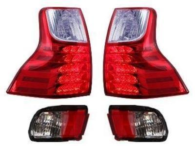 LED Tail Lights for Toyota Prado 150 Series + Bumper Lights (2011 - 2018 Models) - Spoilers and Bodykits Australia