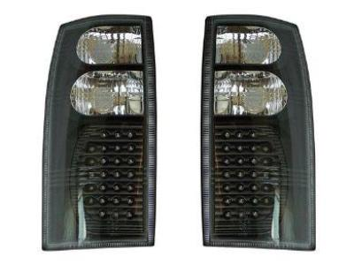 LED Tail Lights for VT / VX / VU / VY / VZ Holden Commodore Utes & Wagons - Black (07/1997 - 07/2006 Models) - Spoilers and Bodykits Australia