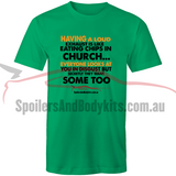 """Loud Exhaust"" T Shirt - Men's Car T-Shirt (Multiple Colours & Sizes Available) - Spoilers and Bodykits Australia"