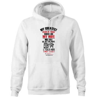 """My Greatest Fear"" Hoodie - Men's Car Hoodie Jumper (Multiple Colours & Sizes Available) - Spoilers and Bodykits Australia"