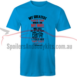 """My Greatest Fear"" T Shirt - Men's Car T-Shirt (Multiple Colours & Sizes Available) - Spoilers and Bodykits Australia"