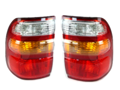 Outer Tail Lights for 100 Series Toyota Landcruiser (04/1998 - 08/2002 Models) - Spoilers and Bodykits Australia