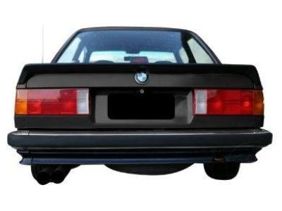 Rear Boot Bobtail Spoiler for BMW E30 Coupe & 4 Door Sedan - Zender Style - Spoilers and Bodykits Australia