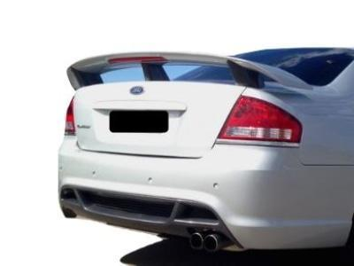 Rear Boot Spoiler for BA / BF Ford Falcon Sedan - Typhoon Style - Spoilers and Bodykits Australia