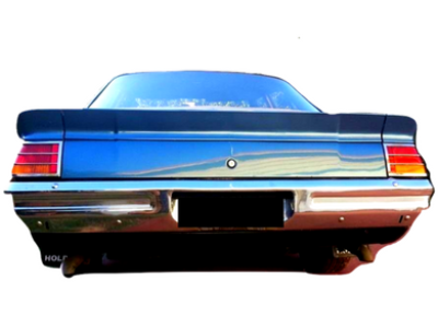 Rear Boot Spoiler for HJ / HX Holden - 3 Piece - Spoilers and Bodykits Australia