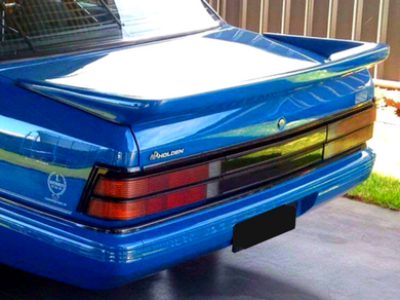 Rear Boot Spoiler for VK Holden Commodore Sedan - Group A Style - Spoilers and Bodykits Australia