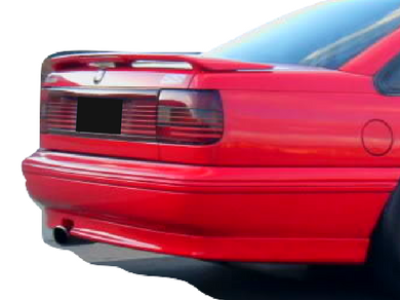 Rear Boot Spoiler for VN / VP Holden Commodore Sedan - VP SS Style - Spoilers and Bodykits Australia