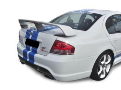 Rear Boot Spoiler Wing for BA / BF Ford Falcon Sedan - GT Style - Spoilers and Bodykits Australia