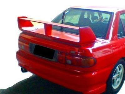 Rear Boot Spoiler Wing for CC Mitsubishi Lancer 4 Door Sedan - EVO 3 Style - Spoilers and Bodykits Australia