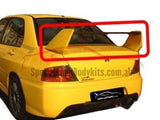 Rear Boot Spoiler Wing for CH Mitsubishi Lancer 4 Door Sedan - EVO 8 Style - Spoilers and Bodykits Australia