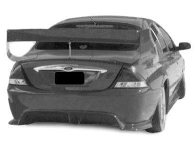Rear Boot Wing Spoiler for AU Ford Falcon Sedan - V8 Supercar Style - Spoilers and Bodykits Australia
