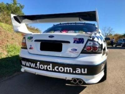Rear Boot Wing Spoiler for BA / BF Ford Falcon Sedan - V8 Supercar Style - Spoilers and Bodykits Australia