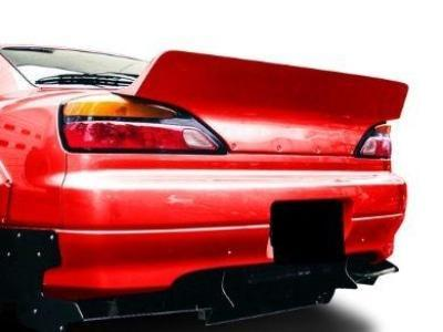 Rear Boot Wing Spoiler for S15 Nissan 200SX Coupe - Spoilers and Bodykits Australia