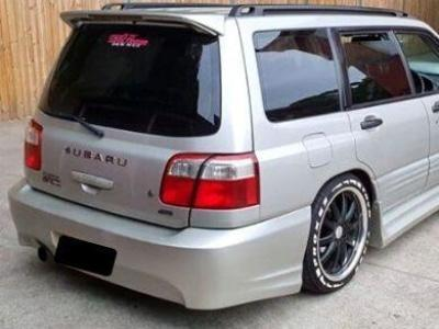 Rear Bumper Bar for Subaru Forester Wagon (1997 - 2002 Models) - Spoilers and Bodykits Australia